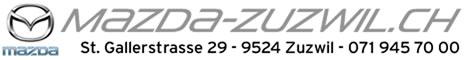 Mazda-Zuzwil – Neuwagen - Jahreswagen - Occasionen
