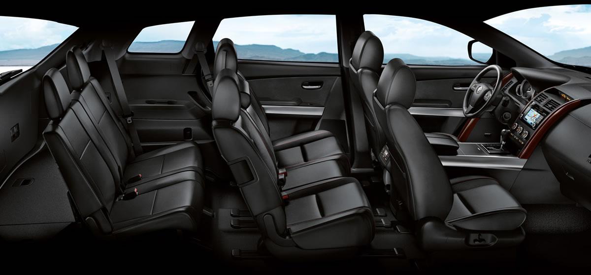 Interieur des Mazda CX-9