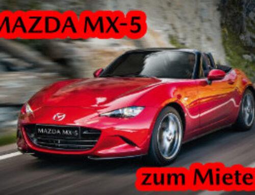 MAZDA MX-5 zum Mieten