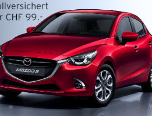 Mazda 2 für CHF 99.-/mtl. – Voll Versichert!