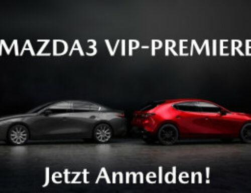 Mazda3 VIP PREMIERE