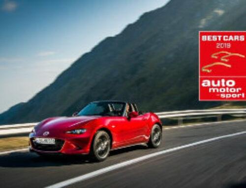 """Erneuter Sieg für den Mazda MX-5 bei """"Best Cars"""""""