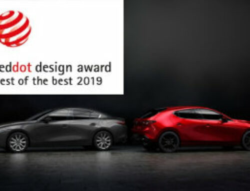Der brandneue Mazda3 gewinnt den «Red Dot: Best of the Best»