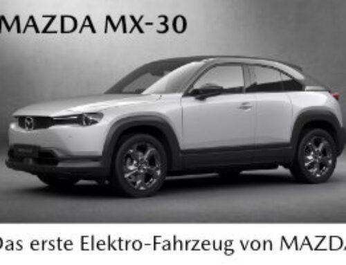 Mazda MX-30 an der Tokyo Motor Show