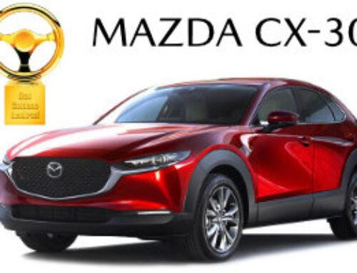 Goldenes Lenkrad für den MAZDA CX-30